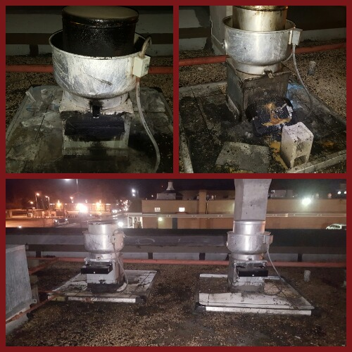 Grease Containment Cleaning In Leawood Ks Mid America